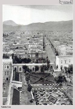 تبریز در سال 1311 (عکس)