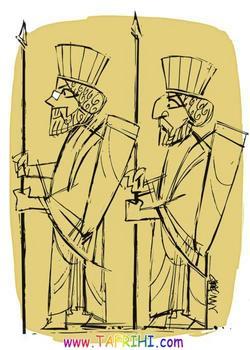 کاریکاتور، بینی ایرانی !