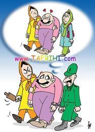 کاریکاتوری جالب با موضوع ازدواج مجدد